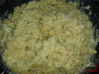 Croquetas de tortilla - huevo hecho
