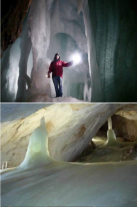 icecave اغرب 10 اماكن على وجه الارض