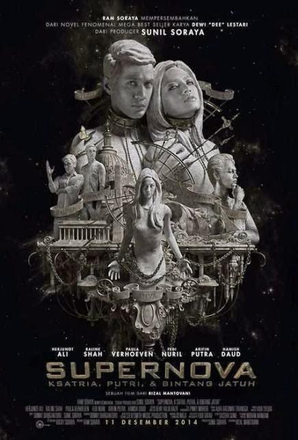 """""""Supernova: Kesatria, Putri, dan Bintang Jatuh (2014)"""" movie review by Kinudang Bagaskoro"""