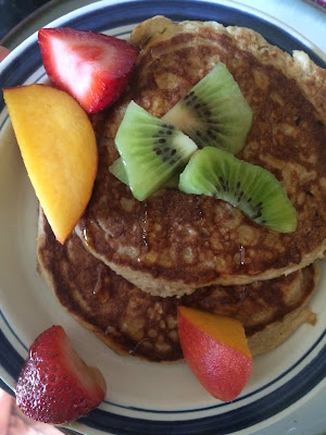 coconut yogurt fluffy pancakes