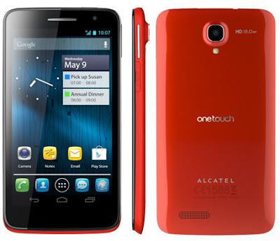 Alcatel One Touch Scribe HD, HSPA+ network support