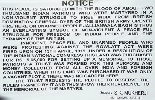 the amritsar massacre committed by the The amritsar massacre took place on april 13th 1919 it was committed by the british, who were colonized in india from the 1600's to 1945 before the amritsar massacre, there was tension between indian civilians and the british colonies for decades.
