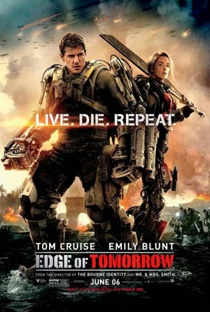 Edge of Tomorrow 2014 poster