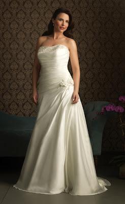 Brautkleider für mollige Frauen