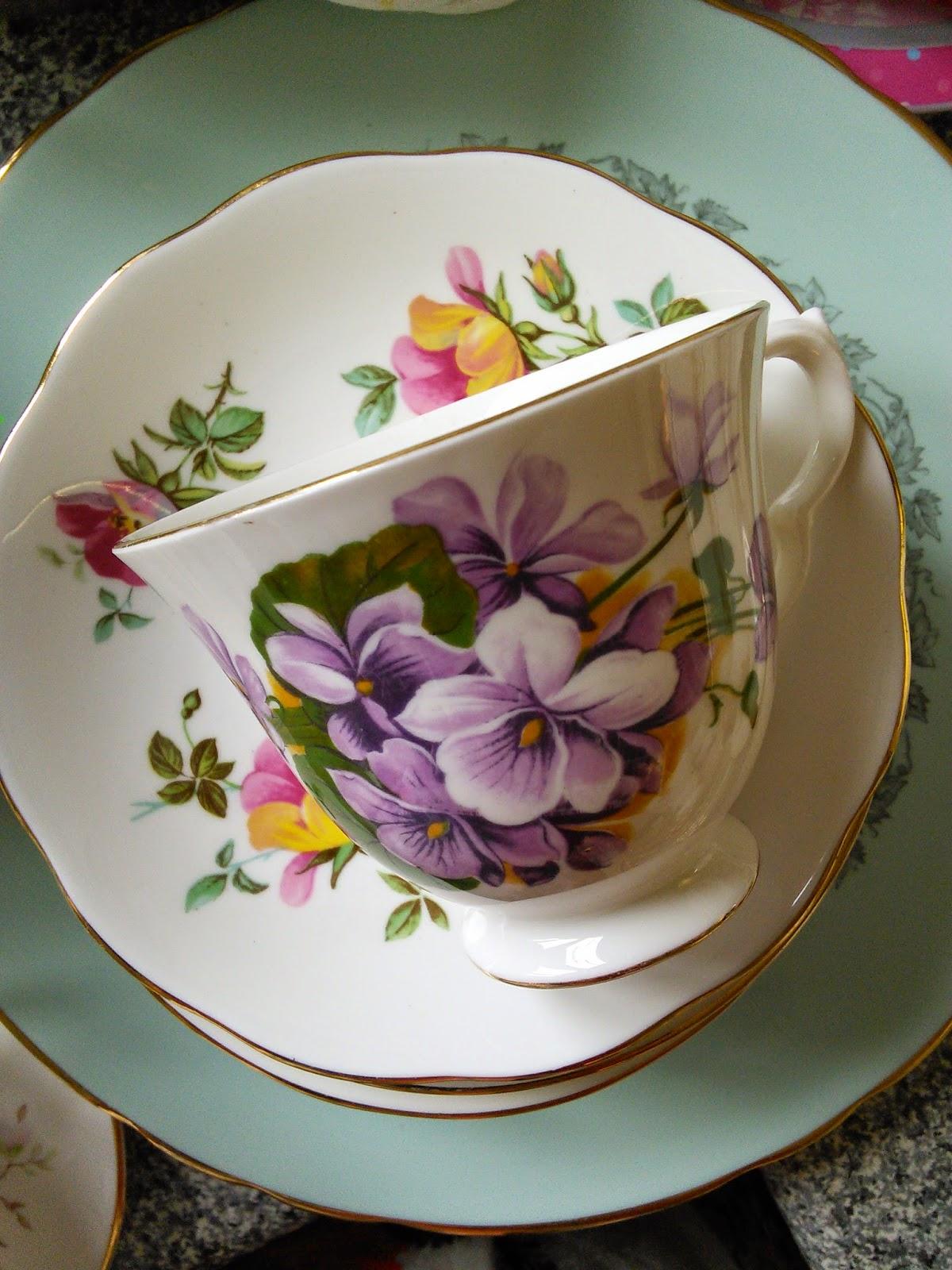 flower, tea,
