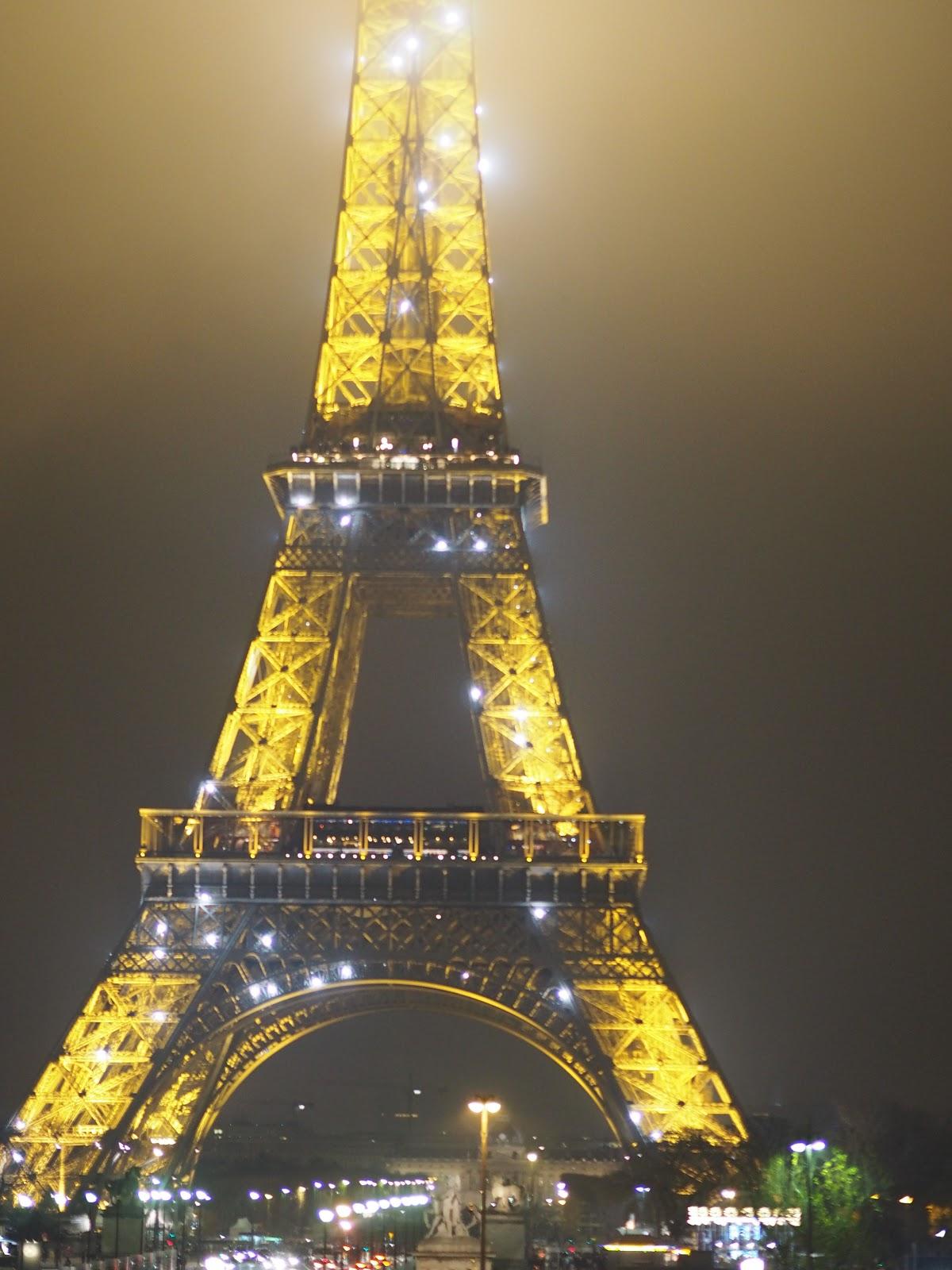 Eiffel Tower, Tour Eiffel, Paris at night time