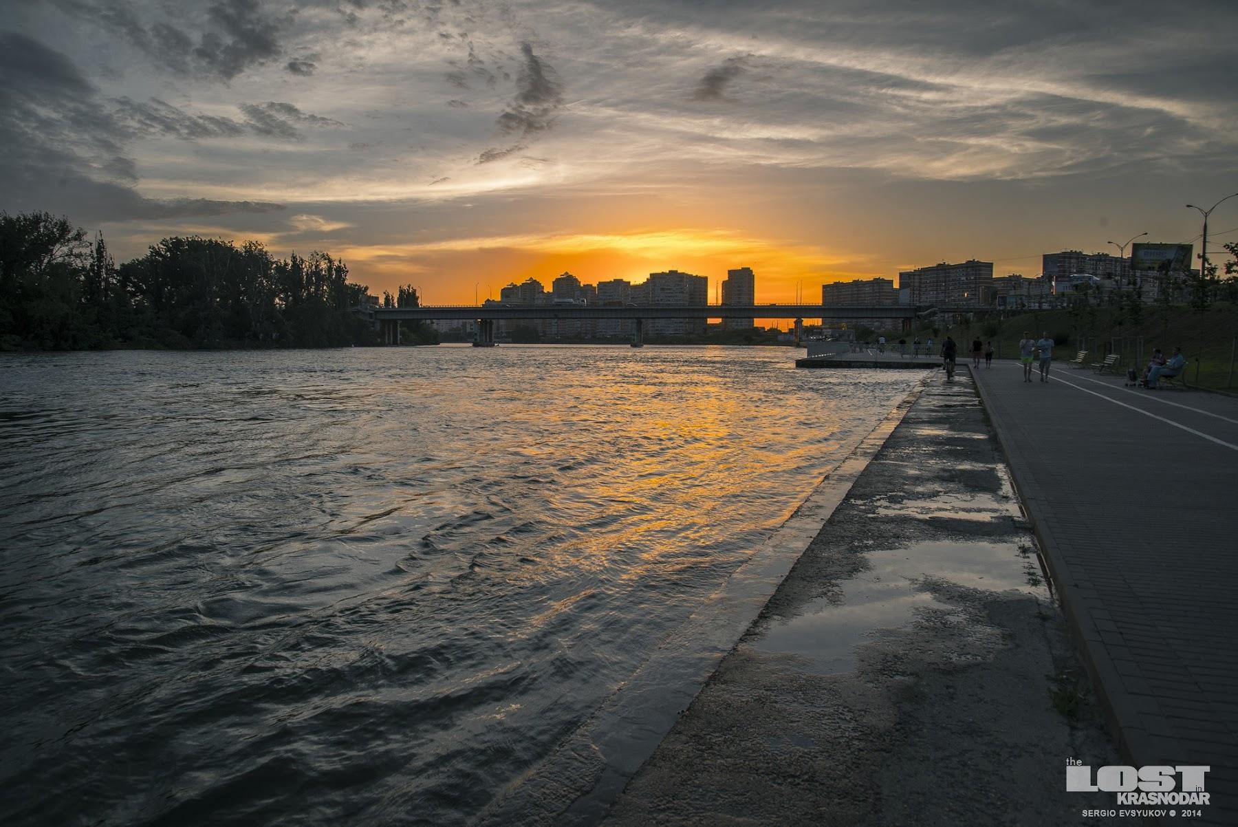Уровень воды в Краснодаре