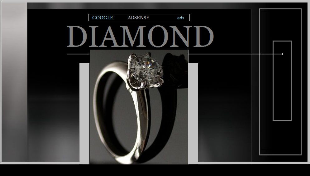 Diamonds sale rise with Googles Adsense Ads