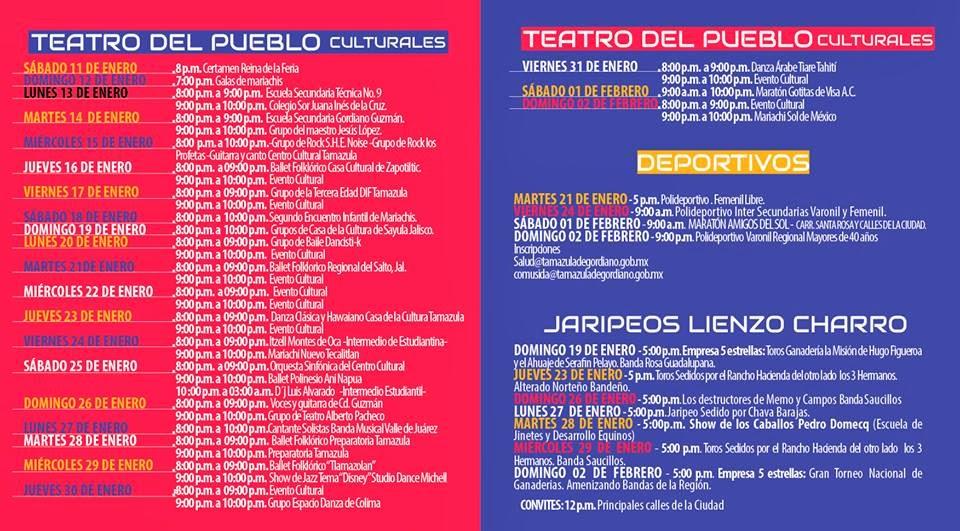 Feria Tamazula 2014