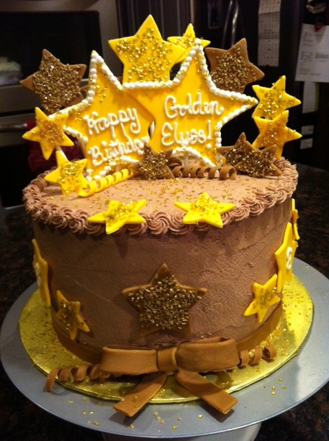 Cake Ideas For Golden Birthday : It s Sweet: 8 Year Old Golden Birthday Cake