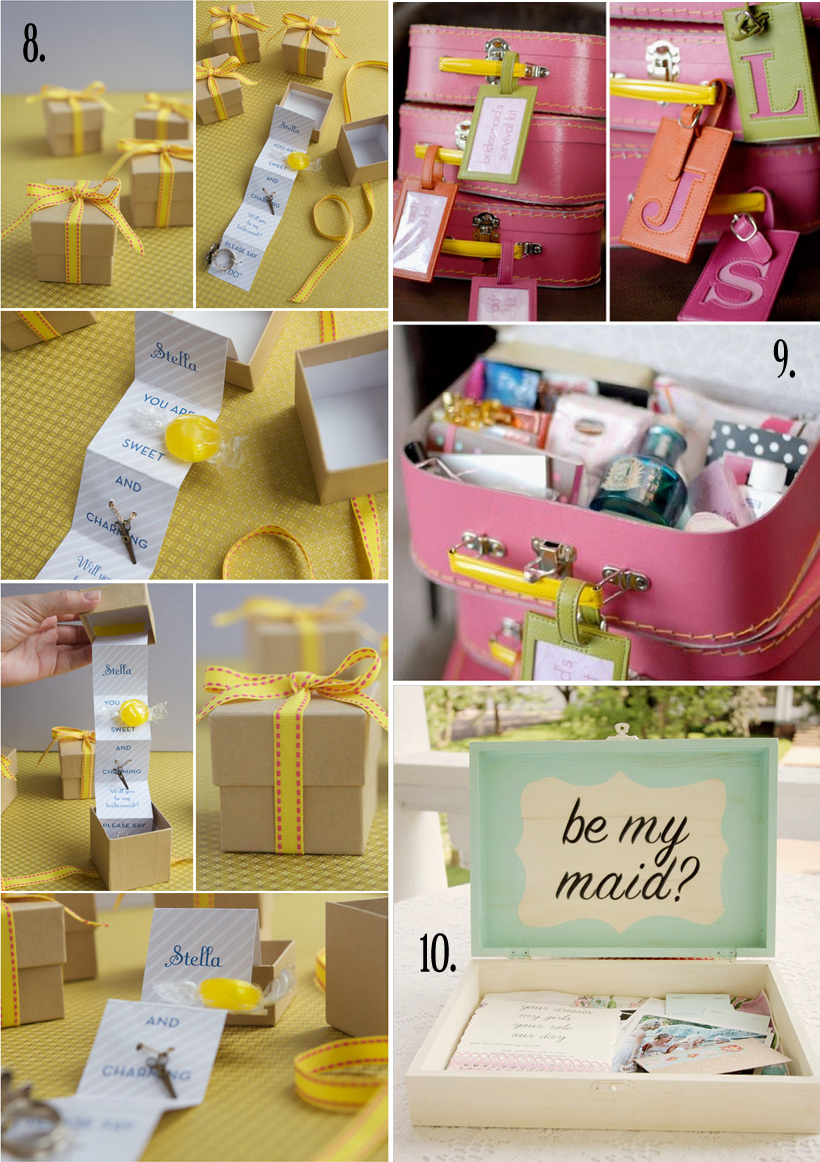 Homemade Thank You Wedding Gifts : Better Life Blog: Handmade Gifts - Wedding Party