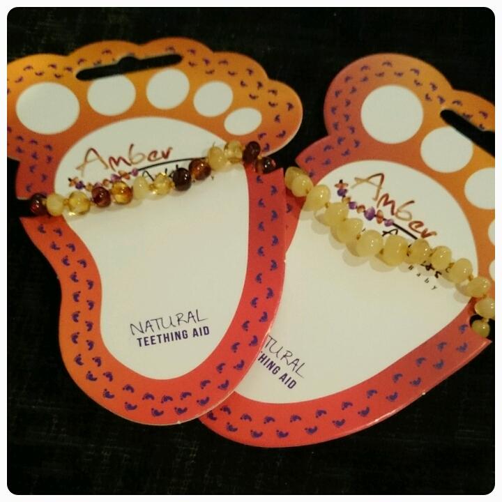 amber anklets
