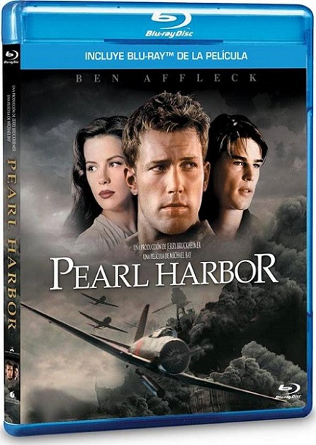 Pearl Harbor (2001) 720p y 1080p BDRip mkv Dual Audio AC3 5.1 ch