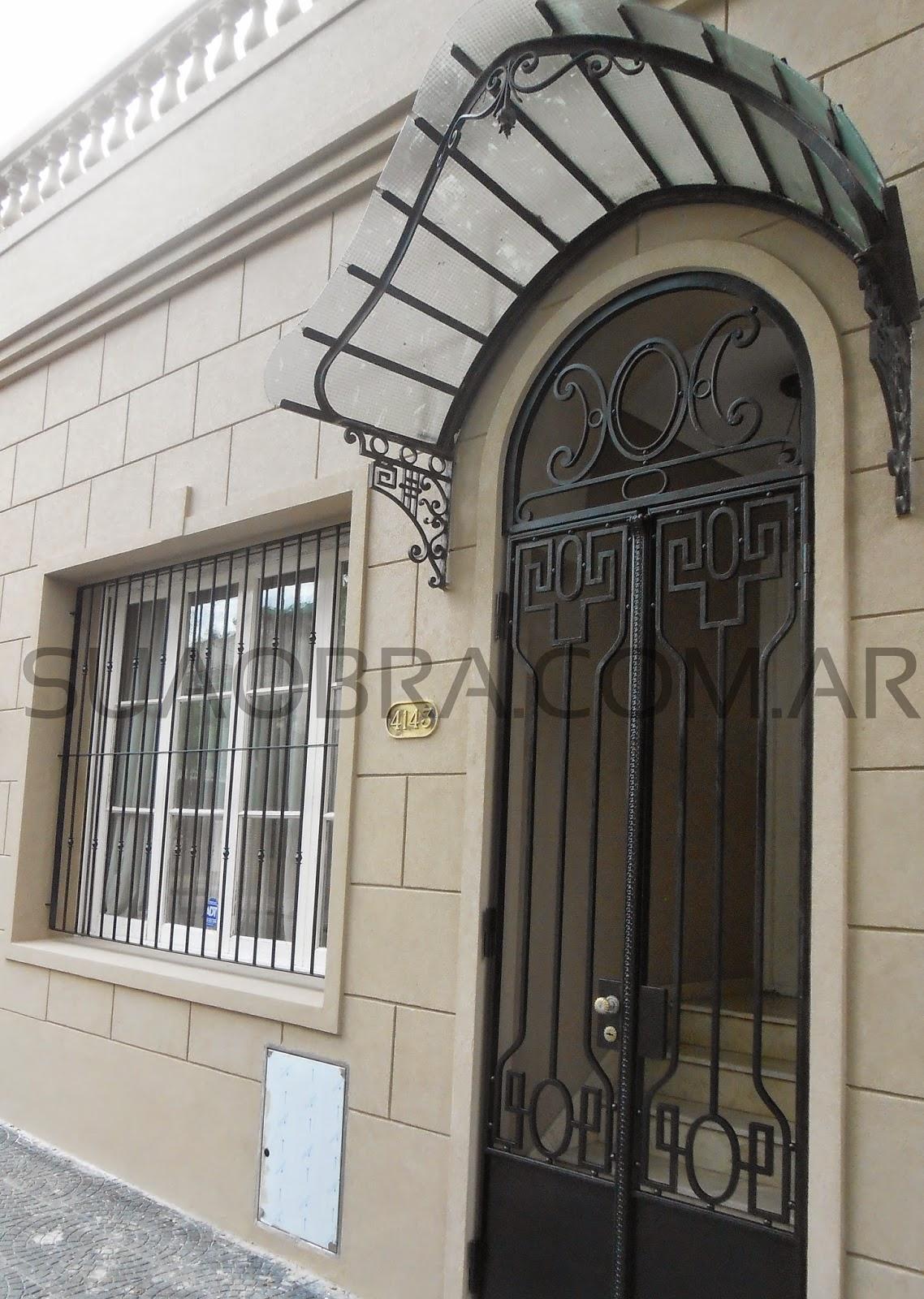 Renovaci n de fachada con revoque plastico sobre - Revestimientos de fachadas precios ...