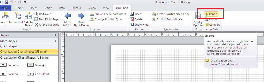 Visio Template Folder Structure