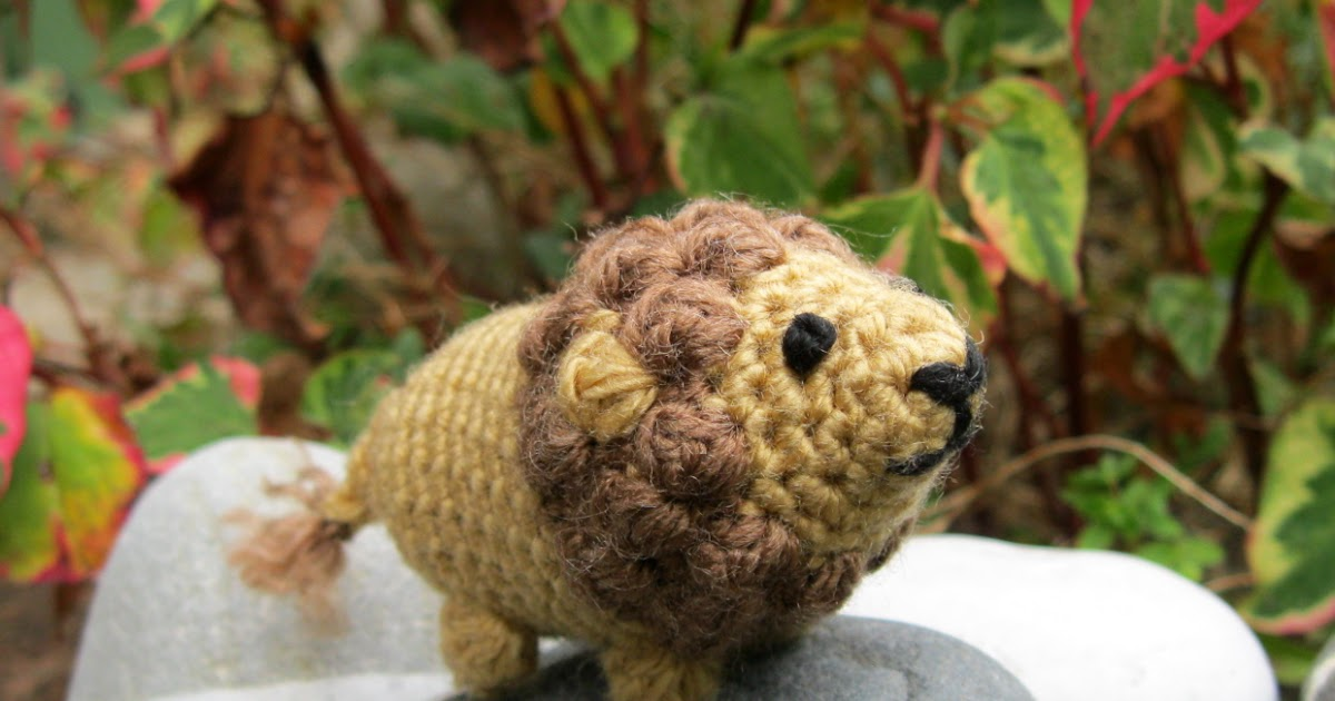 Amigurumi Lion Crochet Pattern : Lucyravenscar crochet creatures boris the tiny lion