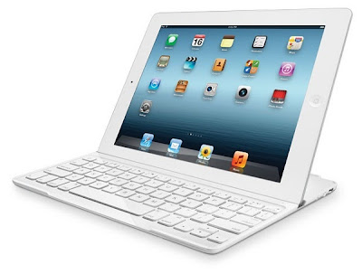 Logitech Ultrathin Keyboard Cover for iPad White