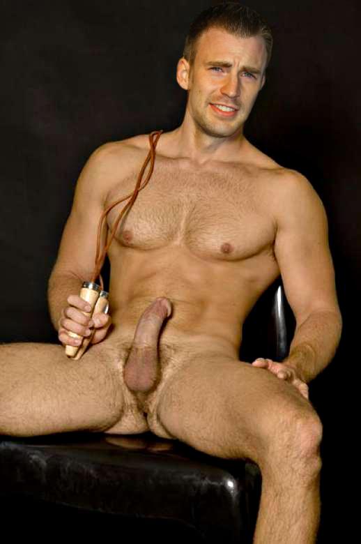 Evans naked