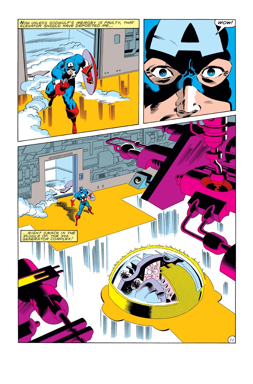 Captain America (1968) Issue #289 #205 - English 12