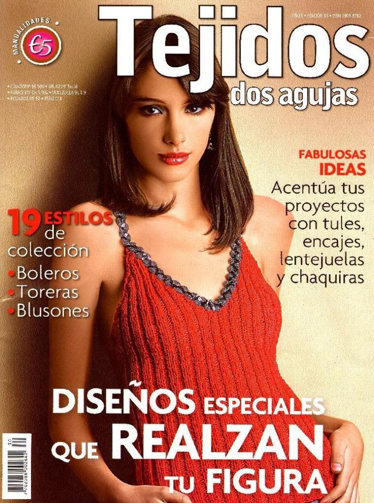 Revista Tejidos Dos Agujas 30