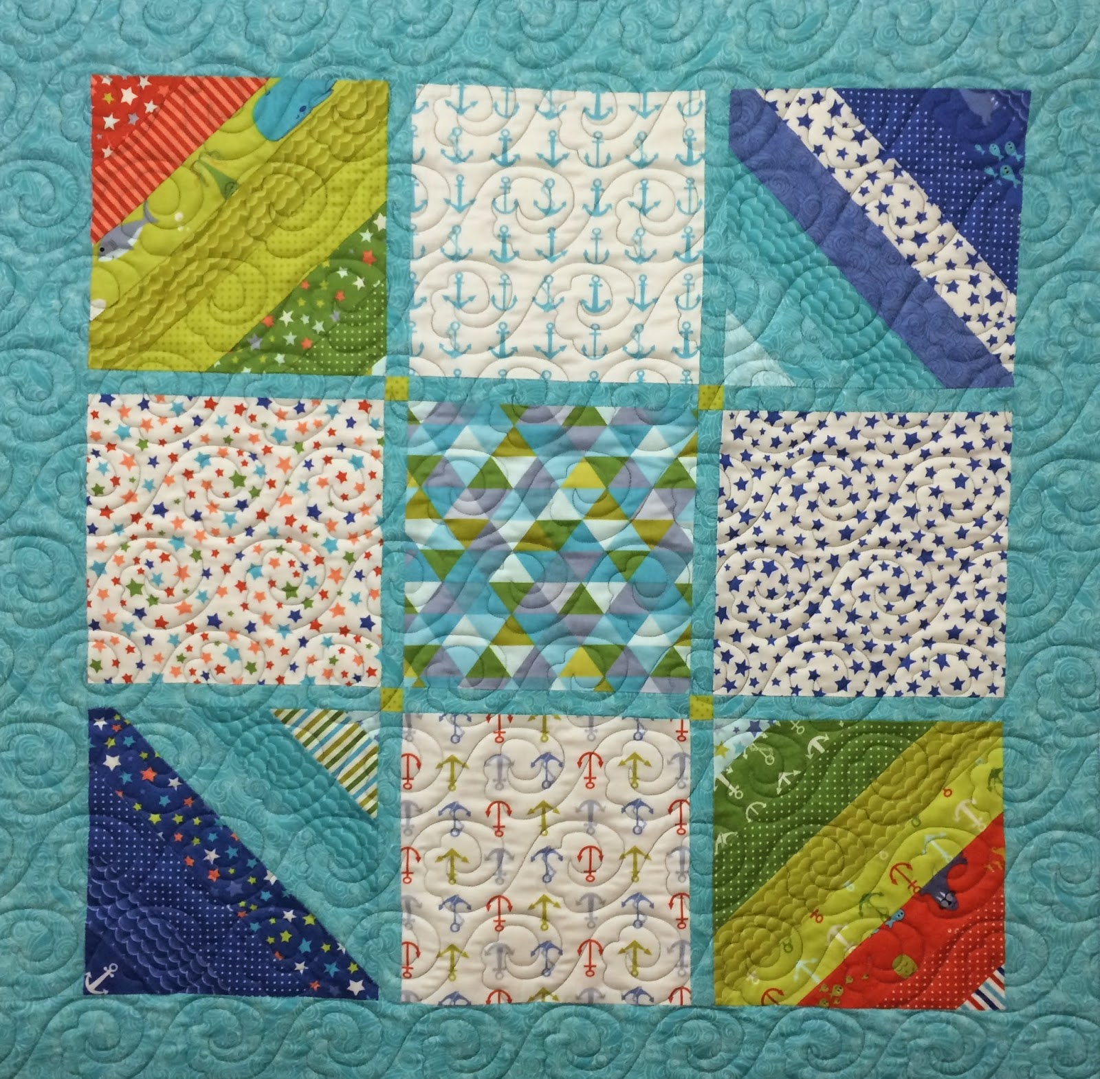 Jeri Couthen Baby Quilt