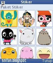 Stiker Facebook