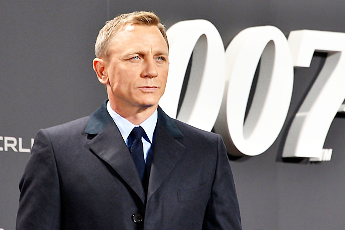 Daniel Craig as James Bond - motherdistracted.co.uk