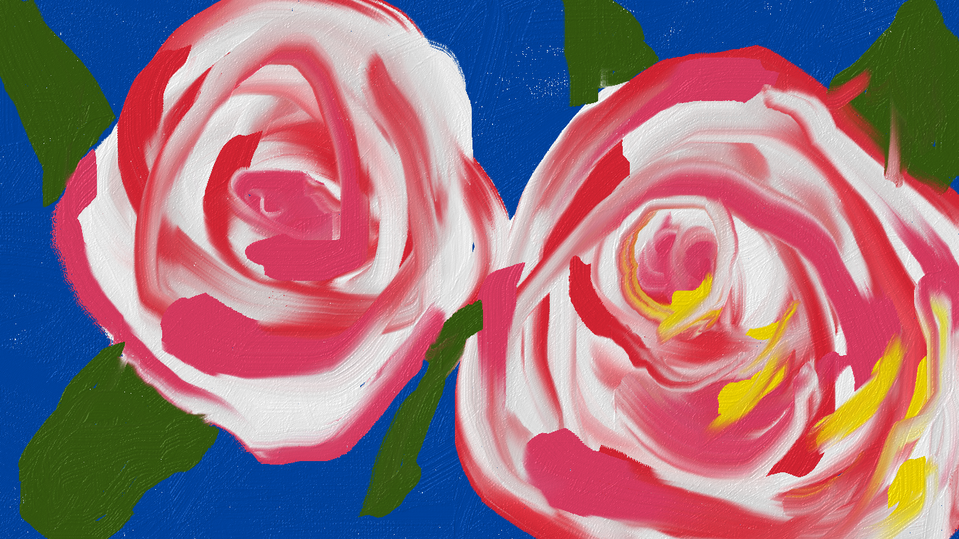 5-Minute Painting With My Mouse