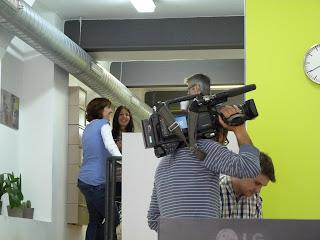 Visita de TVE de catalunya a GWC