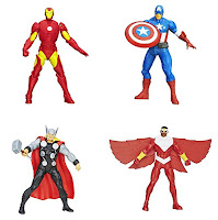 Official Marvel Avengers Assemble Mighty Battlers