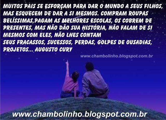 Foto Mensagem Frase de Augusto Cury para Facebook