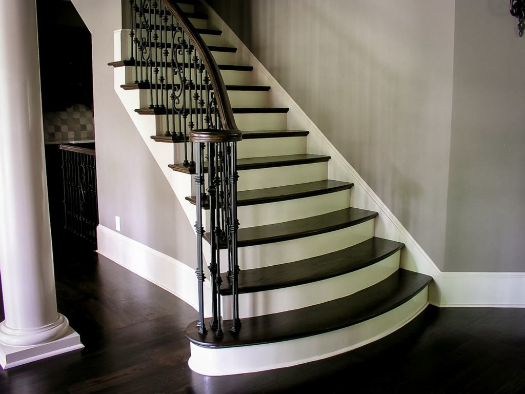 Best 1000 Images About Stair Ideas On Pinterest Wrought Iron Stair Railing Dark Wood And 400 x 300