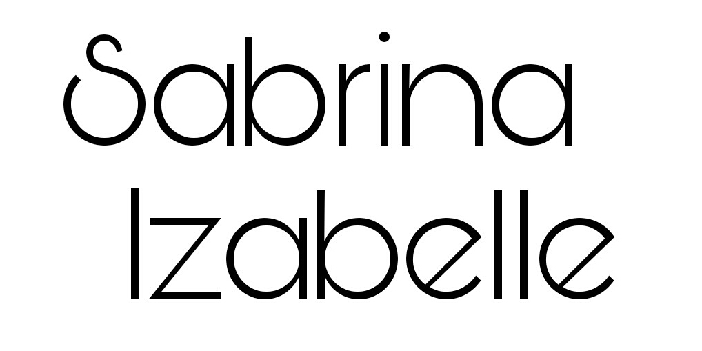 Sabrina Izabelle