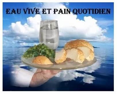 Eau vive et pain quotidien