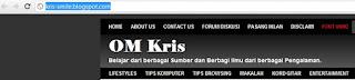 OM Kris - 3 Cara buat shortcut link web dengan mudah & Cepat2
