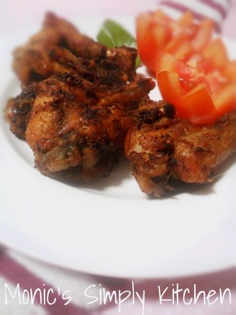 chicken wing bumbu praktis
