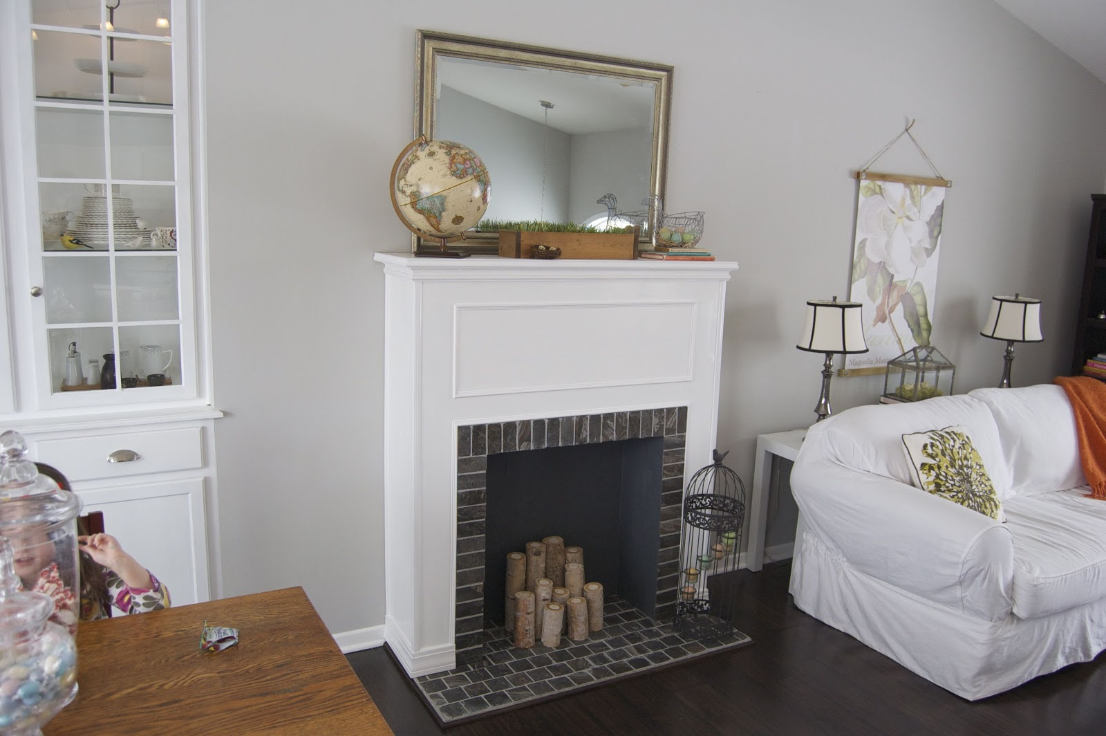 How To Build a Faux Fireplace