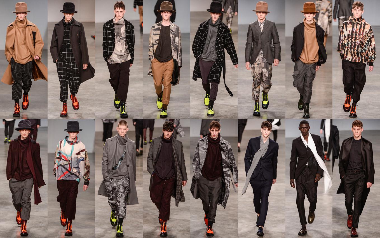 ガリアーノのコレクションは、80年代後半のパリジャン風のビッグタートルネックや、布をふんだんに使った全体に大きいシルエットの服の提案。80年代のクロード・