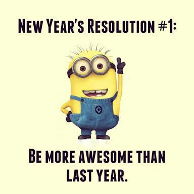 MINIONS : COOL NEW YEAR RESOLUTION - Whatsapp Status Quotes