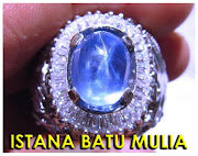 Batu Blue Safir Star