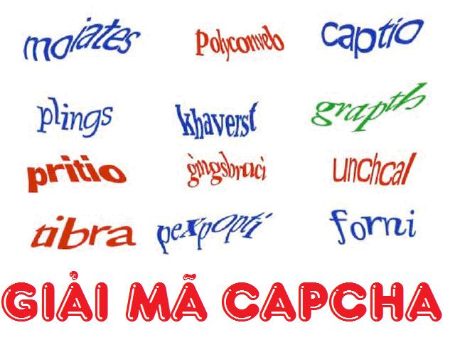 Giải mã Capcha