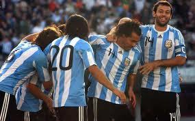 gol de messi para argentina