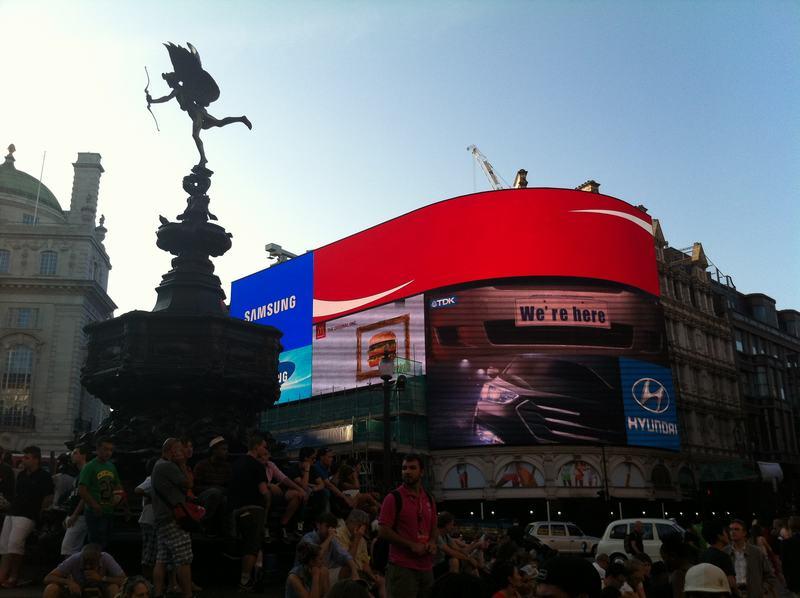 Picadilly Circus - Londres en un día