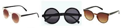 différentes paires de lunettes