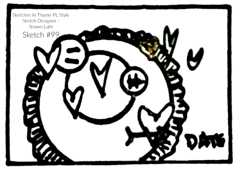 Sketch #99 - April 6 - 30