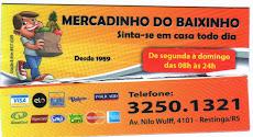 MERCADINHO DO BAIXINHO NA RESTINGA  O MELHOR EM PROMOÇÕES!!!