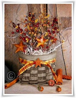 Fall Pip Berries in a Basket