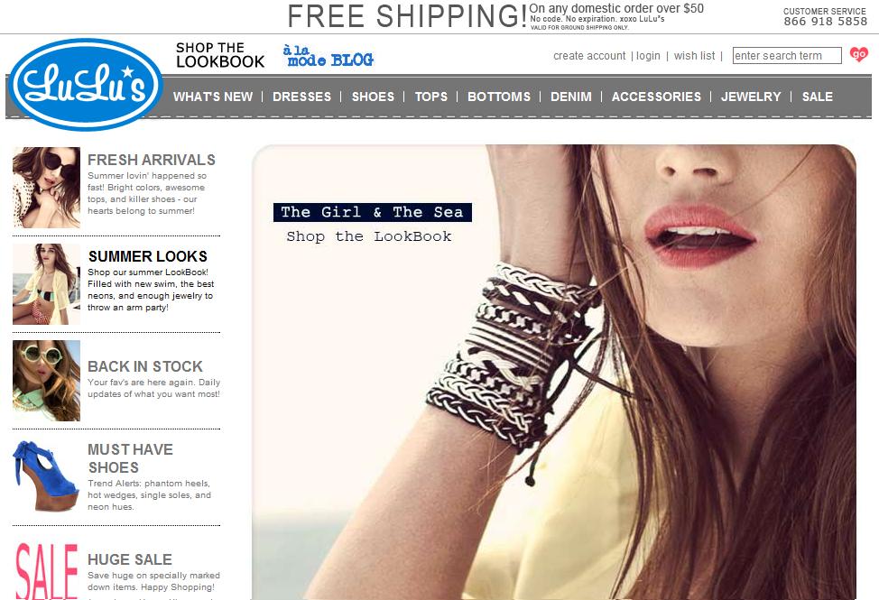 Stores like forever 21 for Online stores like lulus