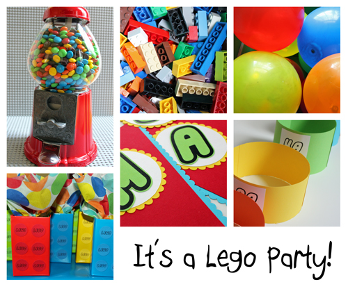 Lego Party Supplys