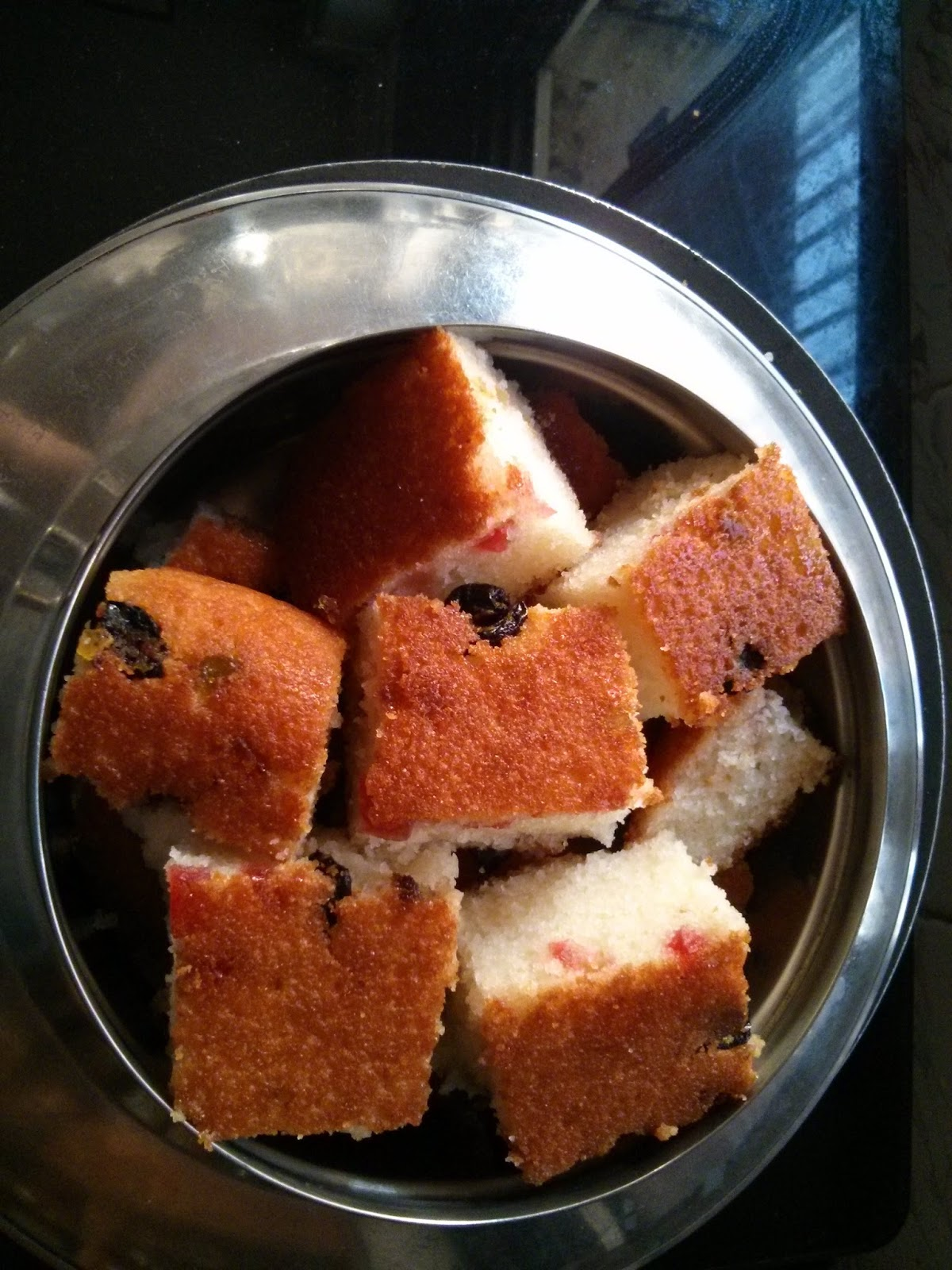 Suji Cake Without Egg